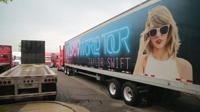 Taylor Swift Hits Ford Field Her Brand Hits Racetrack