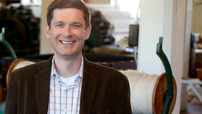 Bob Reinhardt, the new executive director of the Willamette Heritage Center, is eager to reach out to the local community and to teach local history.