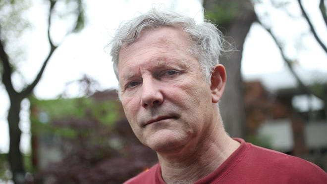 Detroit Federation of Teachers president Steve Conn, 57, at his home in Detroit on Monday, June 8, 2015