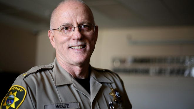 Polk County Sheriff Bob Wolfe is set to retire Dec. 31, 2015 after 16 years in the position. Photographed in Dallas, Ore., on Thursday, June 11, 2015.