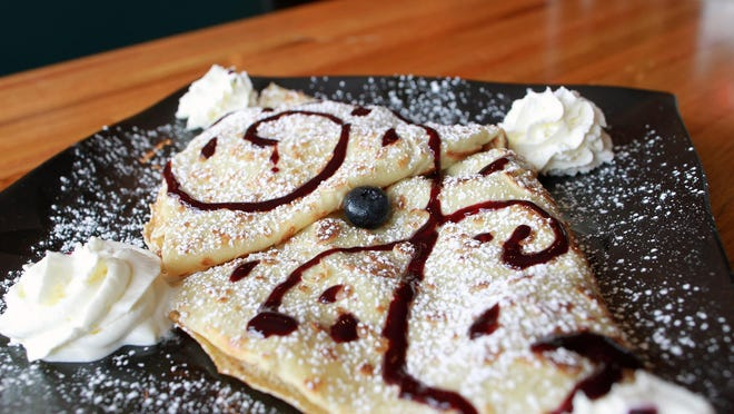 Crepes de Luxe's Crepe du Chef is seen on Tuesday, Sept. 8, 2015.