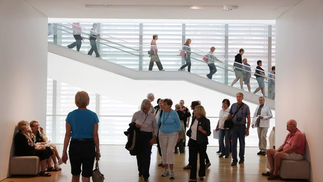 The Grand Rapids Art Museum is in the heart of ArtPrize, near Rosa Parks Circle.