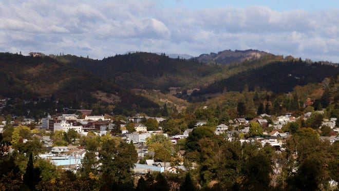 Roseburg, Ore., on Saturday, Oct. 3, 2015. Ten people, including the shooter, were killed and nine others injured in a shooting at Umpqua Community College on Thursday.
