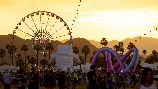 Tickets to the the Coachella Valley Music and Arts Festival, seen here in a 2014 file photo, go on sale Wednesday for locals only