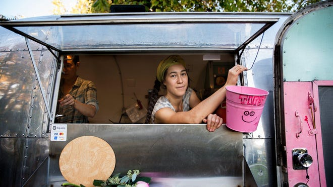 AJ Aaron and Timea Meiko Krishok of Guerrilla Food in Detroit received a $10,000 grant in 2015 from NEIdeas to build, operate and promote a geographically fixed pop-up food space. Thirty applicants will receive $10,000, and two will receive $100,000 in this year's NEIdeas challenge.