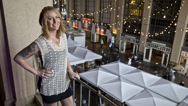 Jenny Vickers is the co-founder of the Asbury Park Bazaar, which will take place at Convention Hall on Friday.