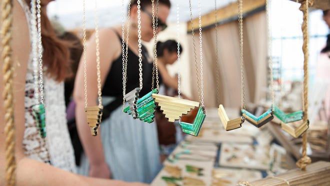 Quality handmade products courtesy of Art Star Craft Bazaar.