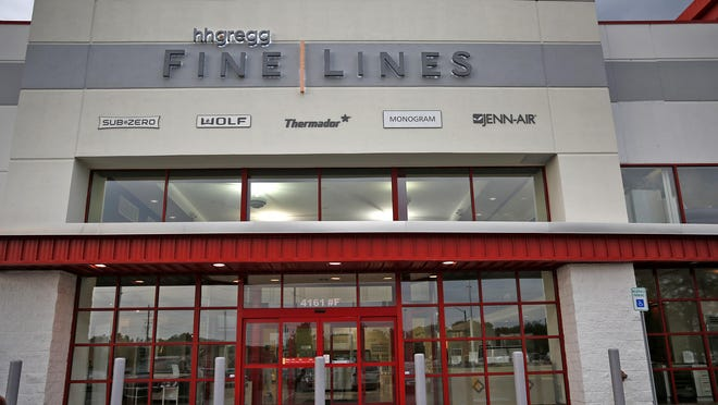 HHGregg Fine Lines showroom at 4161 E. 96th St., Wednesday, August 24, 2016.
