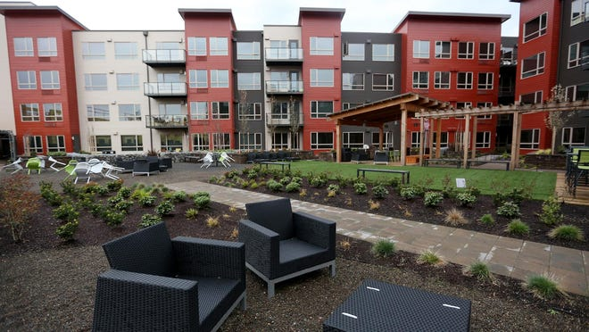 South Block Apartments now sit on the former Boise Cascade site in downtown Salem.