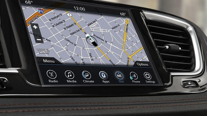 Uconnect with Android Auto and Apple CarPlay will be available on the 2017 Chrysler Pacifica.