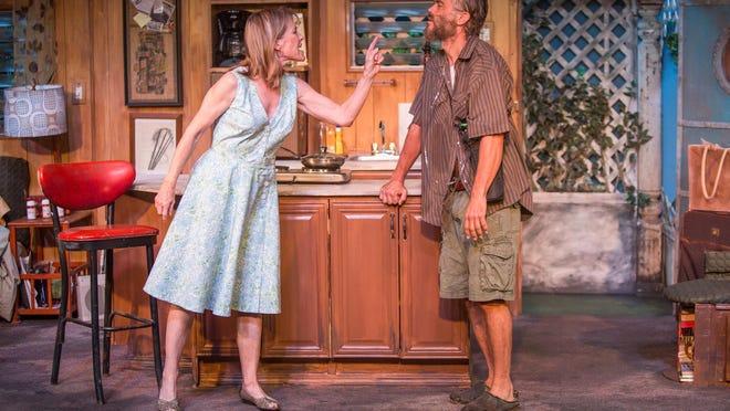 "Friday-Sunday: Anna Nicholas and Eric Charles Jorgenson star in the CVRep production of ""Annapurna."""