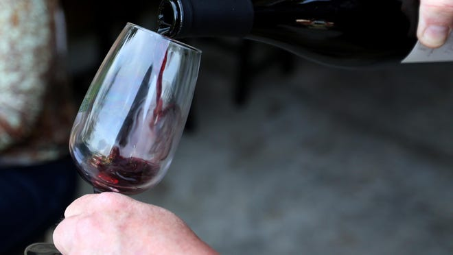 Good news for wine fans. The drink is 123 calories for a 5-ounce glass, a lower-calorie option than many other holiday beverages.