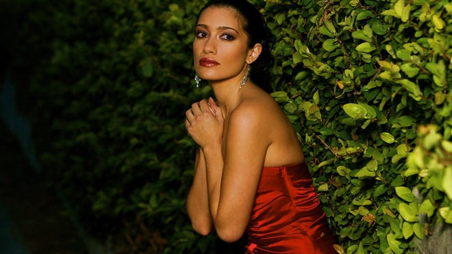 Soprano Catalina Cuervo will join the DSO this weekend.