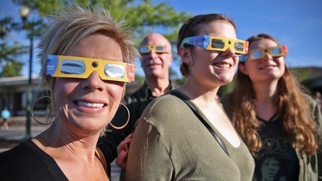 The whole nation, it seems, is fired up for today's solar eclipse.