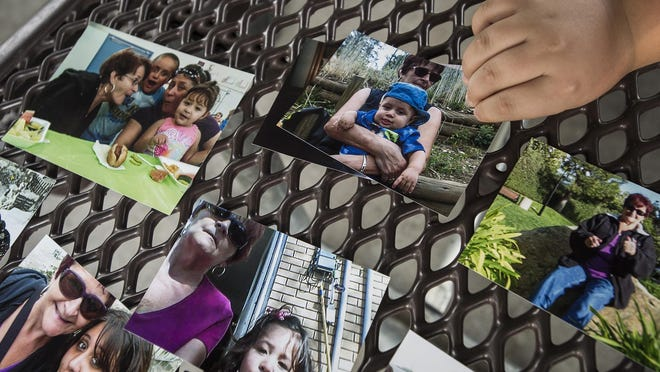 Family photos include Kathy Mondragon, who was killed in 2016 on the night of a brutal attack against her and her granddaughter, Sara Mondragon.