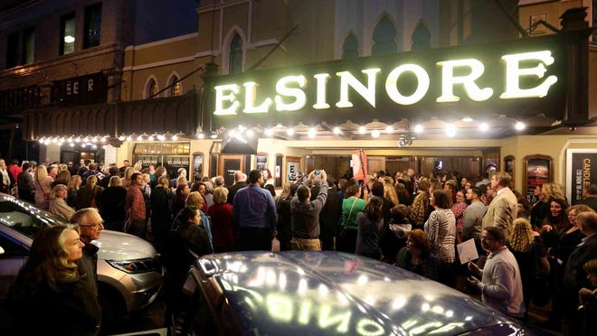 The Historic Elsinore Theatre will host an Academy Awards viewing party on Oscars Sunday, March 4, with red carpet treatment and entertainment, prizes, food, drinks and more, 5:30 p.m. $60 to $100.