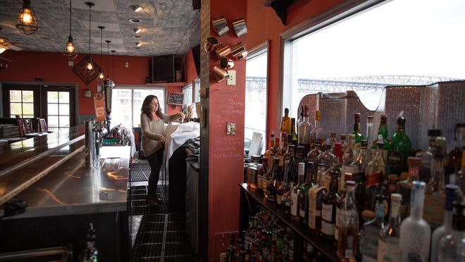 Pamela Resch, owner of Pamela's on the Hudson, said that even if she gets a forgivable loan to rehire workers, she worries about being able to survive a phased-in return to business at her Newburgh restaurant.