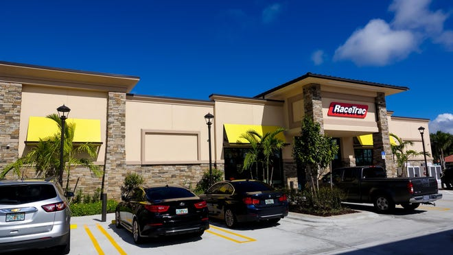 The new Racetrac gas station and convenience store off of Southern Boulevard in Royal Palm Beach on November 14, 2017.