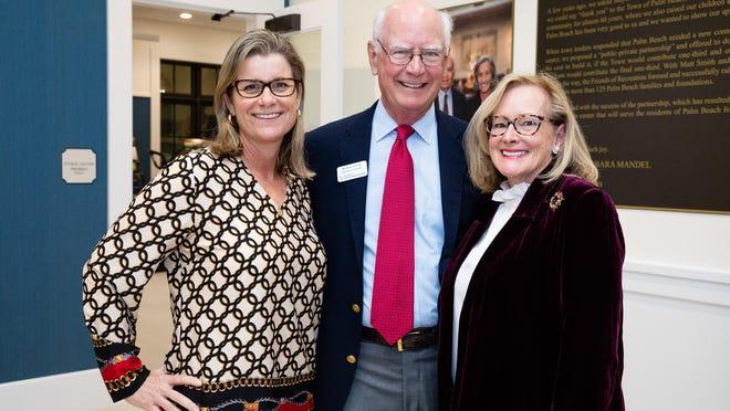 Carolyn Stone, Michael Ainslie and Maggie Zediman