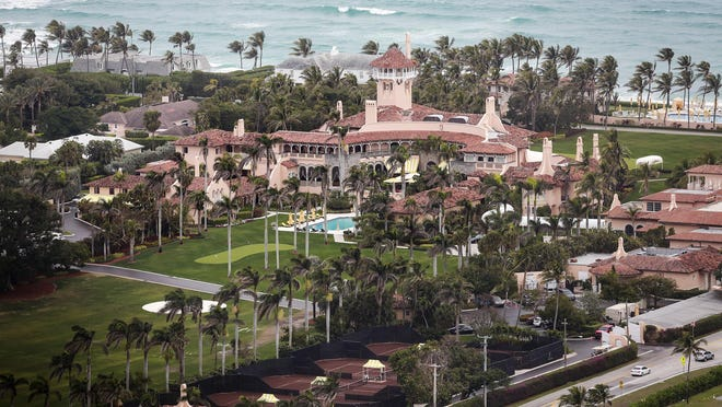 President Donald Trump opened his private Mar-a-Lago Club in 1996.