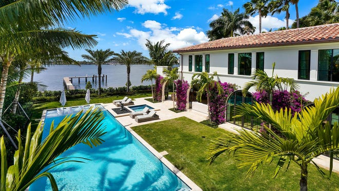 Sold for a recorded $33.w million, a never-lived-in house developed on speculation at 446 N. Lake Way was among the properties that landed under contract after Palm Beach officials began responding to the coronavirus crisis. Broker Lawrence Moens of Lawrence A. Moens Associates had the listing and agent Jim McCann of Premier Estate Properties represented the buyer.