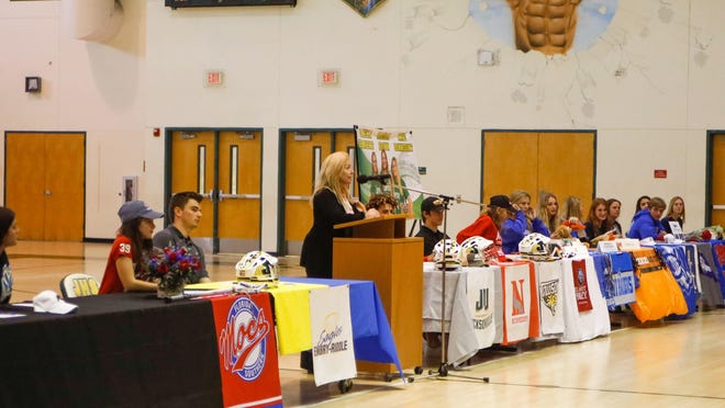 At Jupiter, 28 athletes signed with colleges on national signing day.