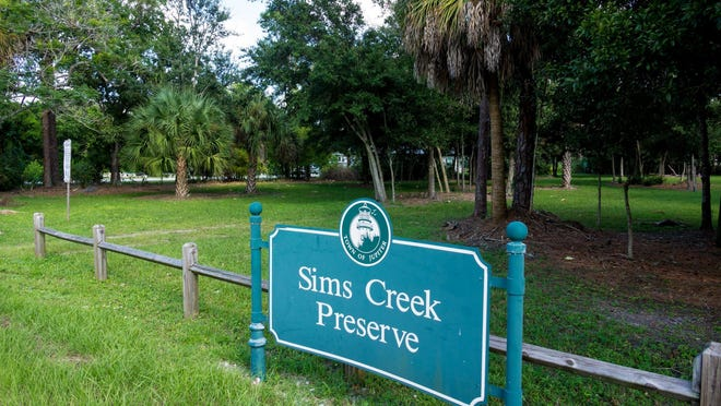 Sims Creek Preserve in Jupiter, which the town bought in 2005 for $2.5 million through its Open Space program.