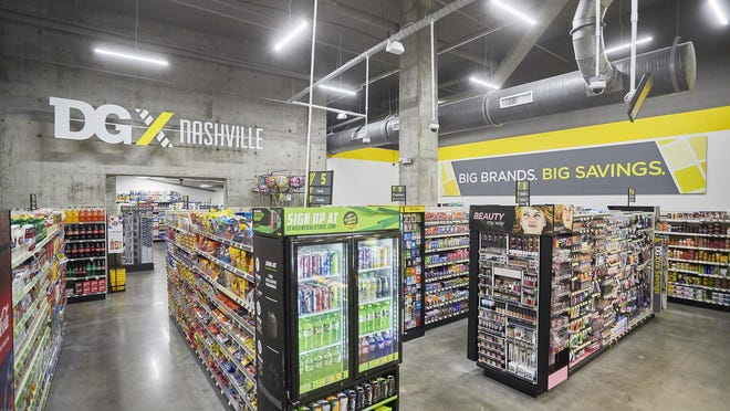 Dollar General plans to open a DGX at  River Place in downtown Wilmington. The concept is mostly in urban areas, like this store in Nashville.