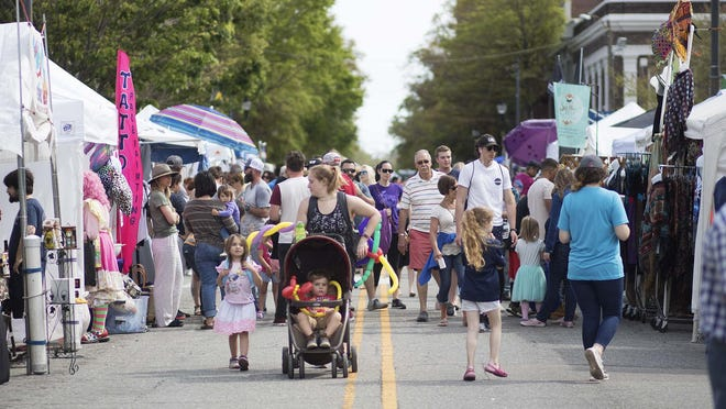 The Azalea Festival, seen here in 2019, was canceled in 2020, but organizers are hopeful for the 2021 event scheduled for April 7-11.