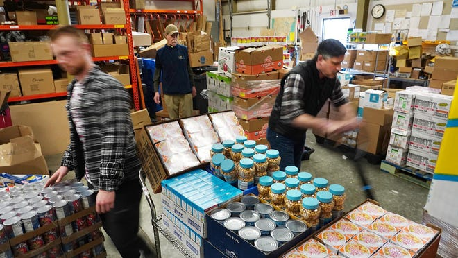 Volunteers at food pantries like Gather, headquartered in Portsmouth, worked with local End 68 Hours of Hunger programs this spring as schools closed due to COVID-19.