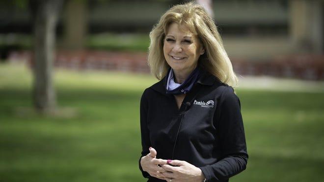 Patty Erjavec president of Pueblo Community College.