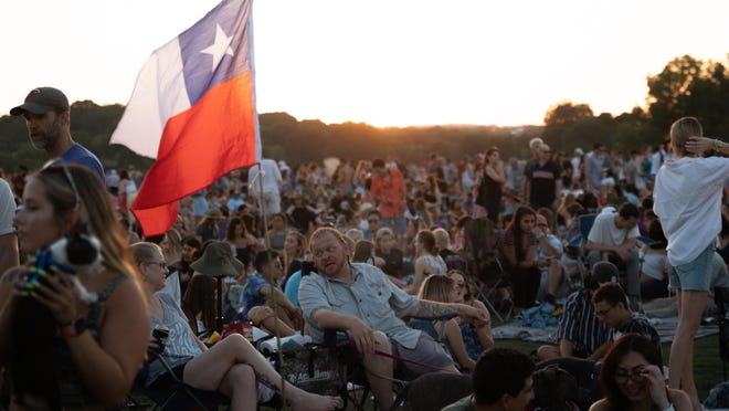'No decisions have been announced or made' about large events like Blues on the Green in public parks this summer, a representative from Austin Parks and Recreation said on May 19.