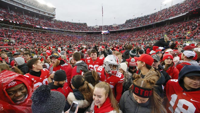 Think major college football isn't a big business? In the 2018-19 academic year, Ohio State football operated at a $55 million profit, with $115 million in revenue against $60 million in expenses.