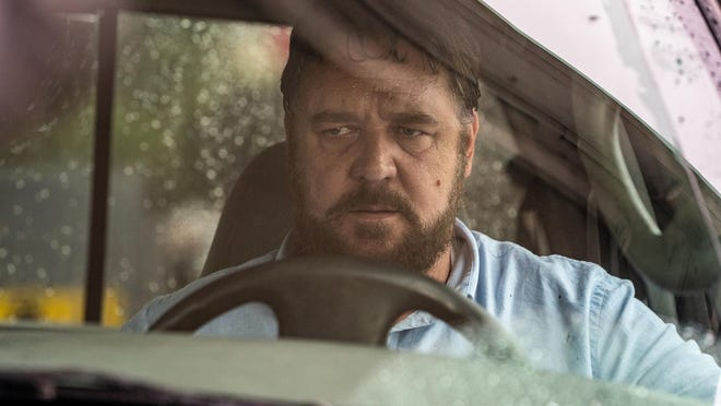 "Russell Crowe stars as ""The Man"" in the psychological thriller ""Unhinged."""