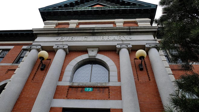 The Dover Public Library at 73 Locust St. in Dover.