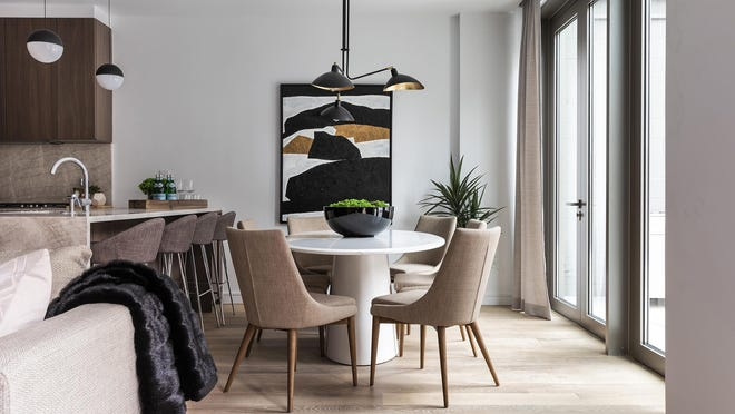 From tables to chairs and lighting, designers can source virtually for homeowners.