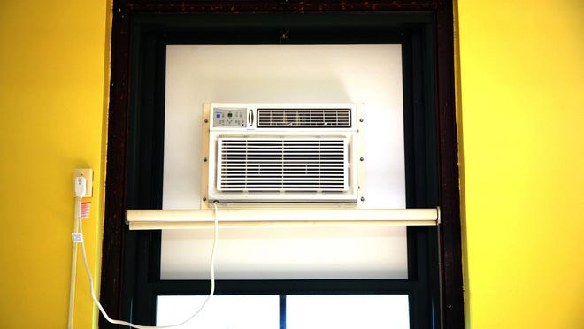Don't worry if your air conditioner runs constantly during the day when it's hot outside.