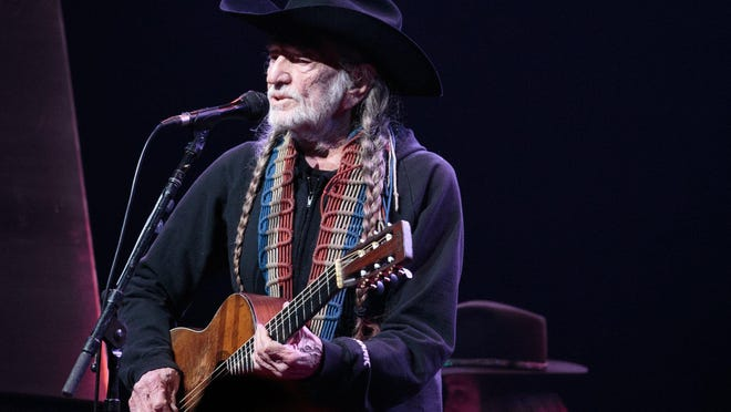 "Willie Nelson, with sister Bobbie Nelson on piano in the background, at ACL Live in 2016. The siblings will appaer on ""The Tonight Show With Jimmy Fallon"" Tuesday to mark the release of their new dual memoir."