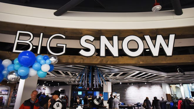 during the grand opening of Big SNOW American Dream in East Rutherford  on 12/05/19.