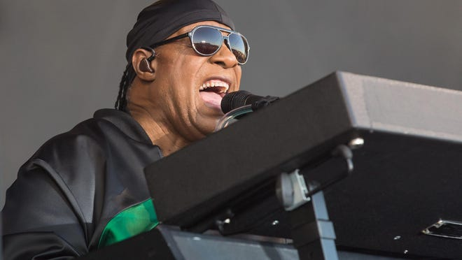 Stevie Wonder, shown here performing in Austin in 2017, released two new songs on Tuesday, including one featuring Austin's Gary Clark Jr.