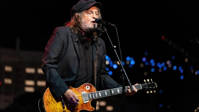 "Ray Wylie Hubbard tapes ""Austin City Limits"" at ACL Live on Wednesday."
