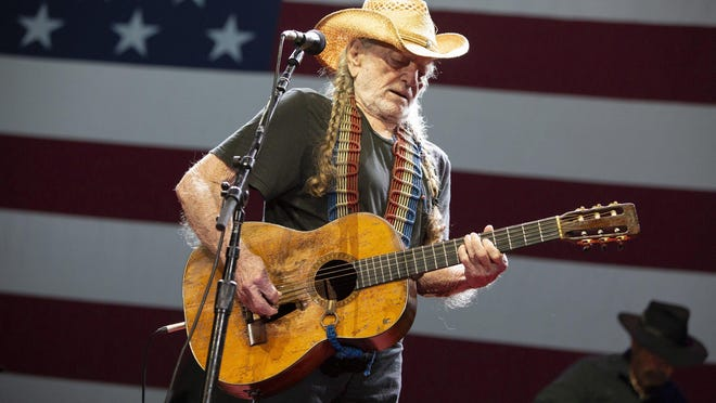 Willie Nelson, shown here playing his 2019 4th of July Picnic at Circuit of the Americas, will bring this year's event to the virtual realm with a livestream/concert-film hybrid event.