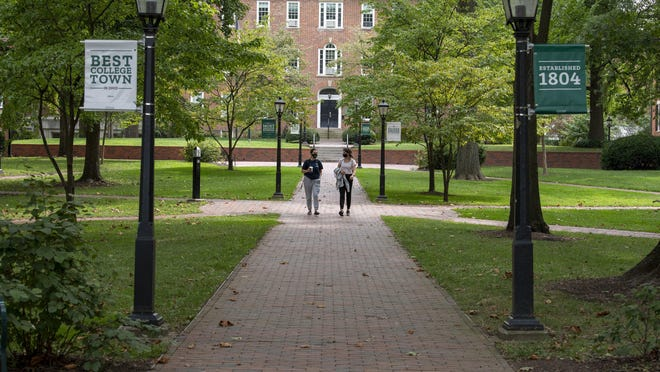 Ohio University has changed course and will now allow students and up to two guests to attend in-person graduation ceremonies this spring.