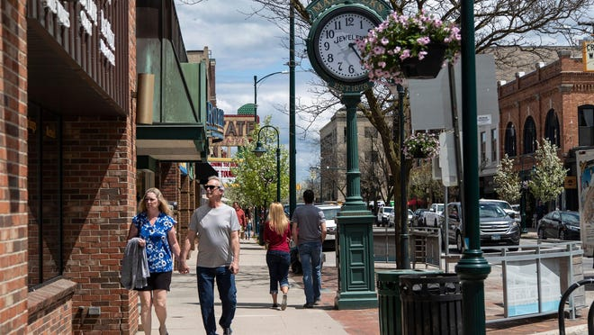 "The number of residents moving to Traverse City from cities on the east and west coasts has been increasing since July as the pandemic pushes many to work from home in what some call their ""cramped, overpriced studio apartments."""