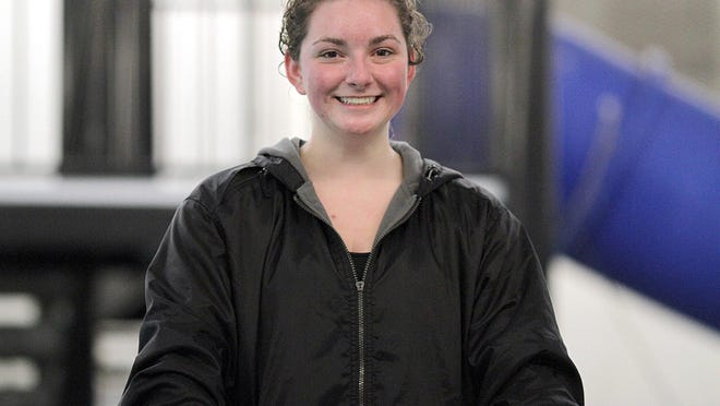 Laci Gottschalk was all smiles following her record-breaking performance on Saturday morning.