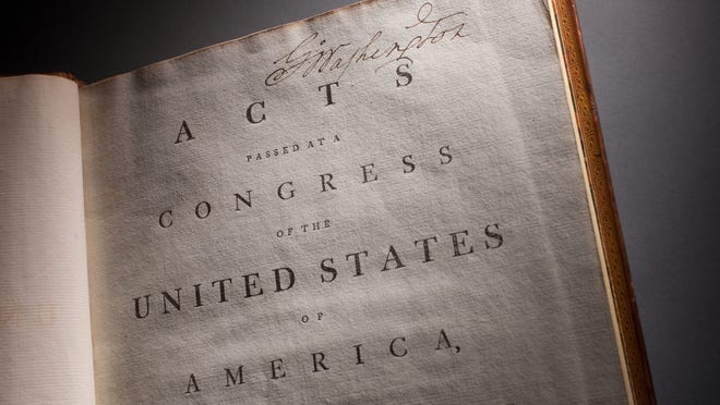 The First Amendment to the Constitution guarantees freedom of the press and freedom of religion.