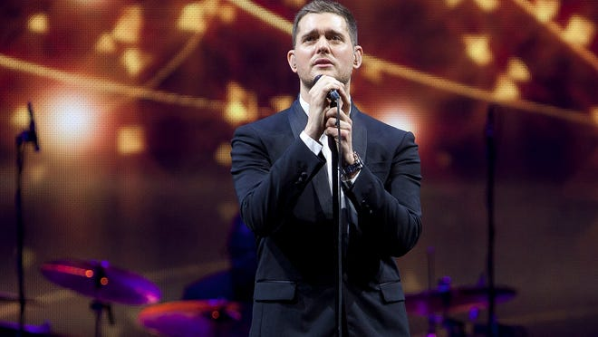 Michael Buble is coming to U.S. Bank Arena July 29.