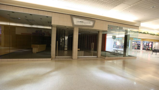 One of many vacant store fronts at Northland Center in Southfield on Thursday, June 12, 2014.