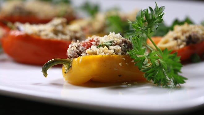 Mediterranean Stuffed Baby Bells are a great-tasting, low-fat appetizer.
