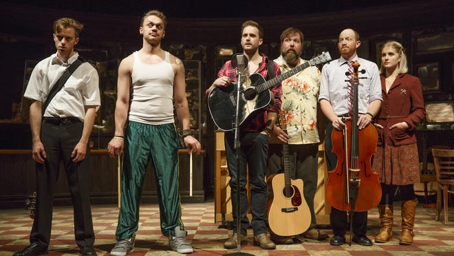 """The national tour of Broadway hit """"Once,"""" based on the 2007 film of the same name, arrives Feb. 3, 2015, at the Fisher Theatre."""